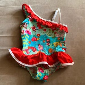 Adorable floatimini bathing suit. Size 5.